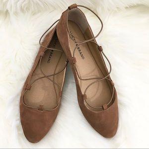 Lucky Brand LK AVIEE Ballet Flats Size 9